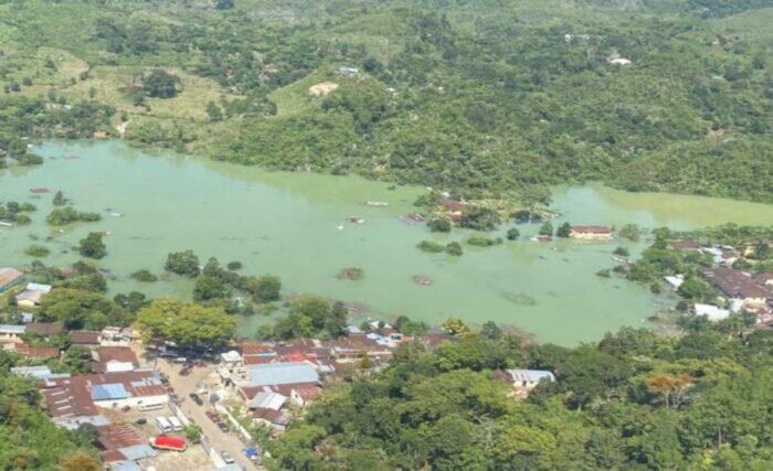De tres a cuatro semanas podrían descender los niveles de inundación causados por Eta e Iota
